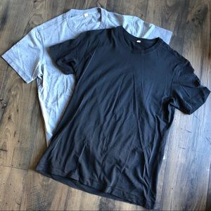 Lululemon 5 Year Basic T Shirt Set Soft L Black